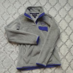 (XS) Patagonia retool snap fleece!